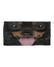Dog Mask 43 Cloth face mask front