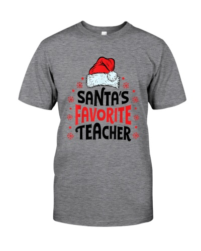 Santa's Favorite Teacher Christmas