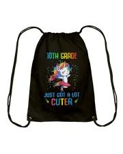 Unicorn 10th Grade Cuter Drawstring Bag thumbnail