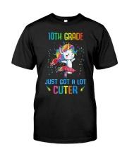 Unicorn 10th Grade Cuter Classic T-Shirt thumbnail