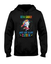 Unicorn 10th Grade Cuter Hooded Sweatshirt thumbnail