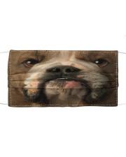Dog Mask 39 Cloth face mask front