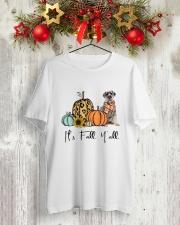Schnauzer Classic T-Shirt lifestyle-holiday-crewneck-front-2