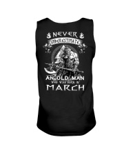 Never Underestimate An Old Man Born In March Unisex Tank thumbnail