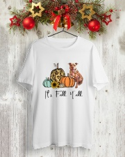 Pit Bull Classic T-Shirt lifestyle-holiday-crewneck-front-2