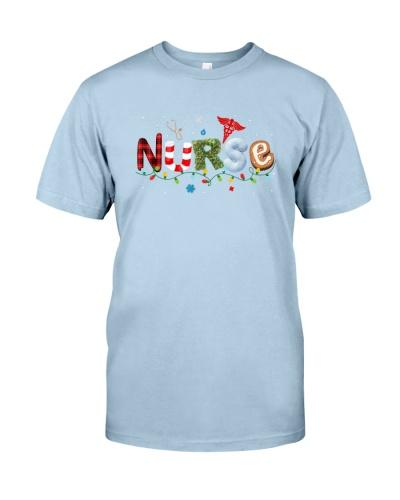 Funny Santa Favorite Nurse Christmas