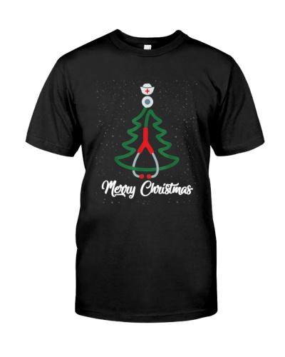 Merry Christmas Nurse Christmas Tree Funny