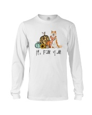 Dog Fall Akita Long Sleeve Tee thumbnail