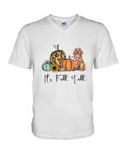 Cockapoo V-Neck T-Shirt thumbnail