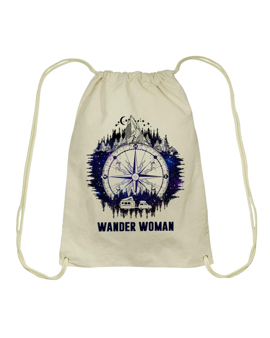 Wander Woman Drawstring Bag