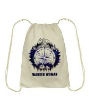 Wander Woman Drawstring Bag thumbnail