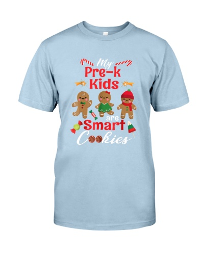My Pre-k Kids Are Smart Cookies Gingerbreads