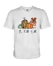 Bulldog V-Neck T-Shirt thumbnail