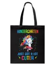 Unicorn Kindergarten Cuter Tote Bag thumbnail