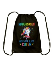 Unicorn Kindergarten Cuter Drawstring Bag thumbnail