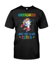 Unicorn Kindergarten Cuter Classic T-Shirt thumbnail