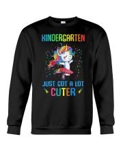 Unicorn Kindergarten Cuter Crewneck Sweatshirt thumbnail
