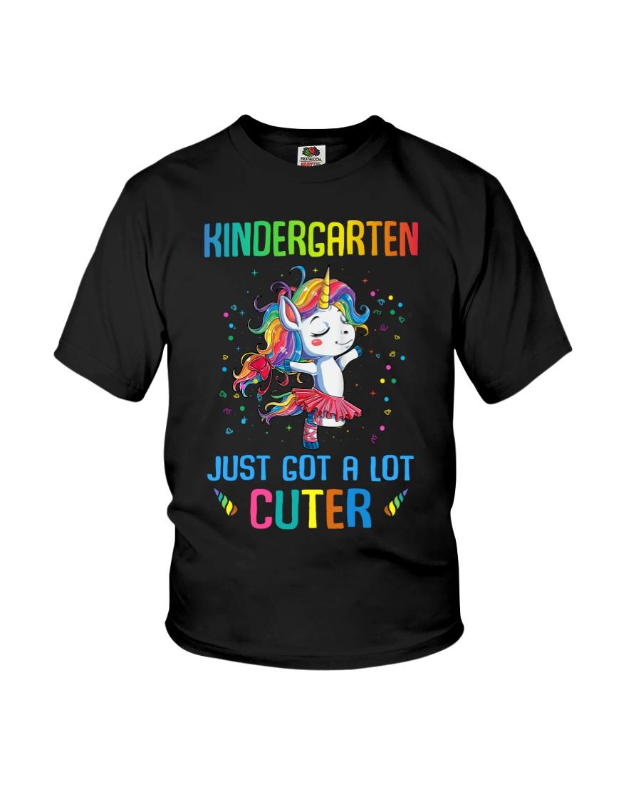 Unicorn Kindergarten Cuter Youth T-Shirt