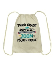 3RD GRADE ZOOMING INTO 4TH GRADE Drawstring Bag thumbnail
