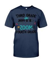 3RD GRADE ZOOMING INTO 4TH GRADE Classic T-Shirt thumbnail