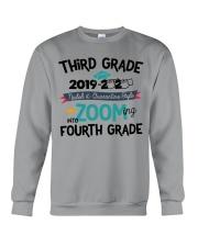 3RD GRADE ZOOMING INTO 4TH GRADE Crewneck Sweatshirt thumbnail