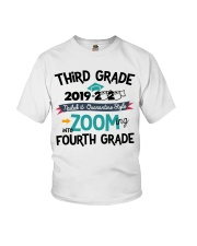 3RD GRADE ZOOMING INTO 4TH GRADE Youth T-Shirt front