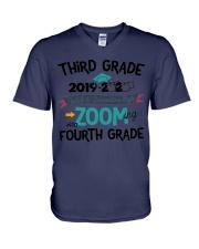 3RD GRADE ZOOMING INTO 4TH GRADE V-Neck T-Shirt thumbnail