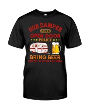 Our Camper Has An Open Door Policy Classic T-Shirt thumbnail