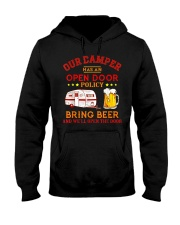 Our Camper Has An Open Door Policy Hooded Sweatshirt thumbnail