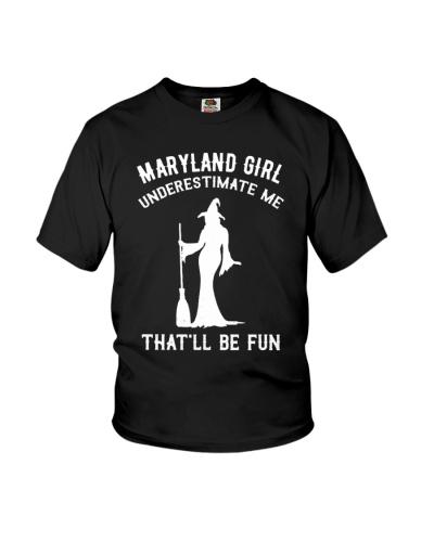 Maryland Girl Underestimate Me