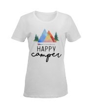 Happy Camper Ladies T-Shirt women-premium-crewneck-shirt-front