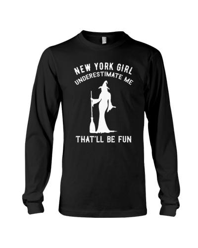New York Girl Underestimate Me
