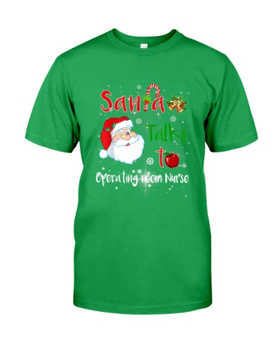 Christmas Santa Talk To Operating room Nurse
