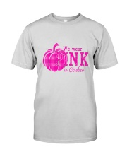 Breast Cancer We wear pink in october Premium Fit Mens Tee thumbnail