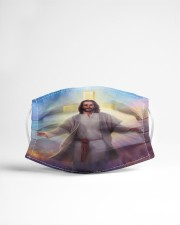 Jesus God Cloth face mask aos-face-mask-lifestyle-22