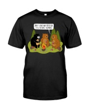 Don't Leave Any Beer Out It'll Attract Humans Classic T-Shirt thumbnail