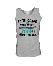 5TH GRADE ZOOMING INTO MIDDLE SCHOOL Unisex Tank thumbnail