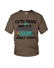 5TH GRADE ZOOMING INTO MIDDLE SCHOOL Youth T-Shirt tile
