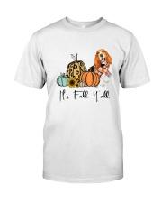 Basset Hound Classic T-Shirt front
