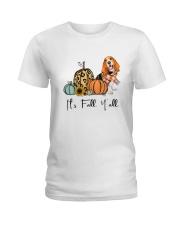 Basset Hound Ladies T-Shirt thumbnail
