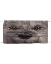Dog Mask 52 Cloth face mask front