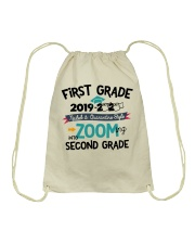 1ST GRADE ZOOMING INTO 2ND GRADE Drawstring Bag tile