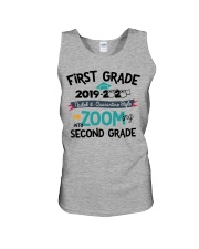 1ST GRADE ZOOMING INTO 2ND GRADE Unisex Tank tile