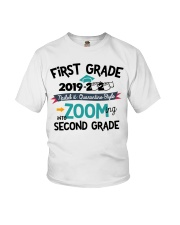 1ST GRADE ZOOMING INTO 2ND GRADE Youth T-Shirt thumbnail