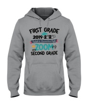 1ST GRADE ZOOMING INTO 2ND GRADE Hooded Sweatshirt tile