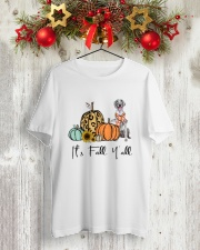 Weimaraner Classic T-Shirt lifestyle-holiday-crewneck-front-2