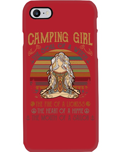 Camping Girl