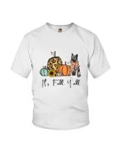 Norwegian Elkhound Youth T-Shirt thumbnail