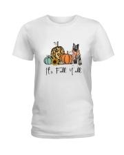Norwegian Elkhound Ladies T-Shirt thumbnail