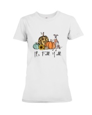 Italian Greyhound Premium Fit Ladies Tee thumbnail